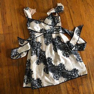 Jessica Simpson semi formal dress